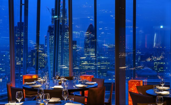 Oblix Restaurant – The Shard, London